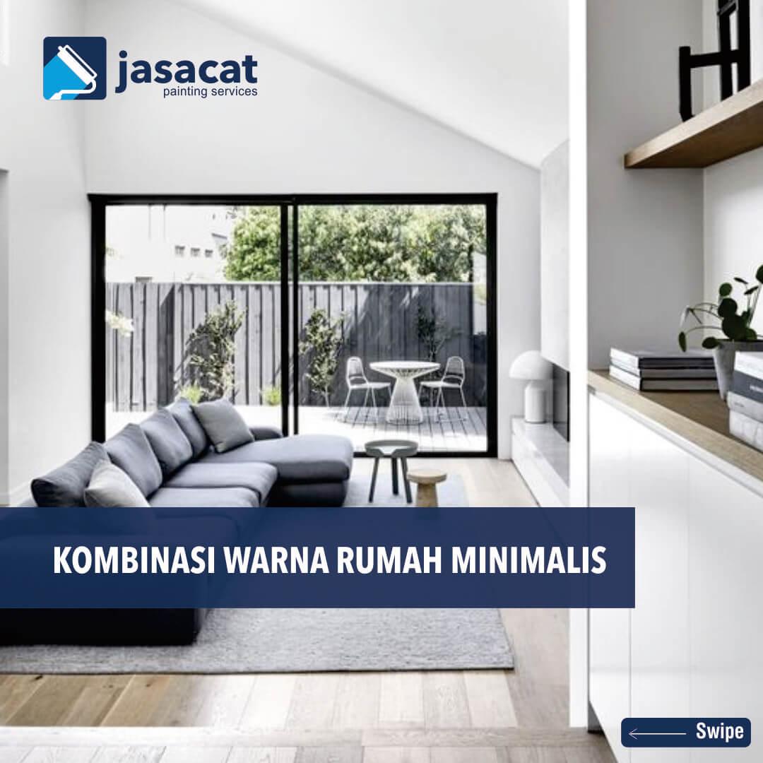 7 Kombinasi Warna Cat Rumah Minimalis Yang Lagi Terkenal Di Tahun 2020 Jasa Cat Kombinasi cat warna putih